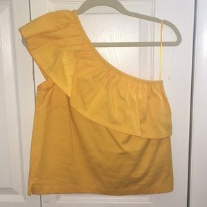J Crew | Off the shoulder blouse